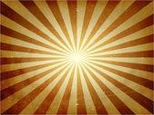 Distressed light burst vector background — Stock Vector