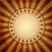 Fondo de rayos de luz marrón grunge — Vector de stock