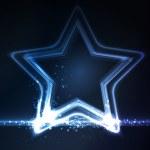 armazón azul brillante — Vector de stock  #13558975
