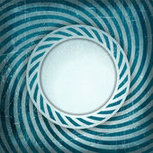 Blue grunge light rays background — Stock Vector