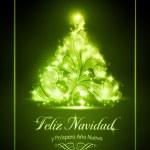 Christmas card, tarjeta de navidad — Stock Vector #15695891