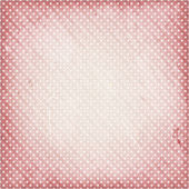 Distressed pale rose background with dots — Stock Vector