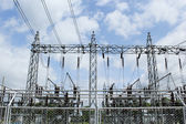 Power production facilities in Thailand — 图库照片