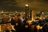 バンコクの都市上の眺め — ストック写真