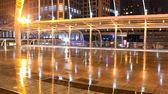 Skywalk presso la piazza centrale di bangkok — Foto Stock