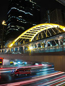 Business area , In the city of bangkok — 图库照片