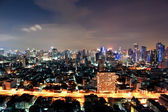 Business area , In bangkok,Thailand — Stock Photo