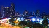 Cityscape at Night in bangkok , Thailand — Stock Photo