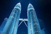 KUALA LUMPUR - DEC-31: View of The Petronas Twin Towers on DEC, — Stock Photo