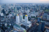 View over the city of Bangkok — Stock Photo