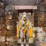 Buddha statue , in Thailand — Stock Photo #24345117