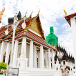 Temple Benchamabophit in Bangkok ,Thailand — Stock Photo #24351477
