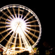 Ferris wheel at night — Stock Photo #24356859
