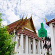 Temple Benchamabophit in Bangkok ,Thailand — Stock Photo