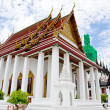 Temple Benchamabophit in Bangkok ,Thailand — Stock Photo #24368839
