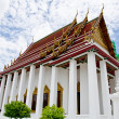 Temple Benchamabophit in Bangkok ,Thailand — Stock Photo #24370841