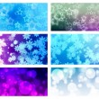 Abstract light background with colorfull — Stock Photo
