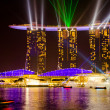 Foto Stock: SINGAPORE - JAN 25: MarinBay Sands, World's most expensive sta