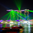 Stockfoto: SINGAPORE - JAN 25: MarinBay Sands, World's most expensive sta