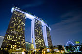 SINGAPORE - JAN 23: Marina Bay Sands, World's most expensive sta — Stockfoto