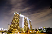 SINGAPORE - JAN 25: Marina Bay Sands, World's most expensive sta — Stock Photo