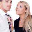 Harassment in the workplace - Stock Photo