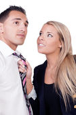 Harassment in the workplace — Stock Photo