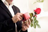 Hombre que va a proponer — Foto de Stock