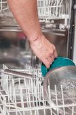 Dishwasher job — Stock Photo