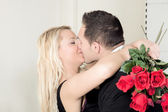 A kiss of love — Stock Photo