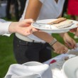 Stock Photo: Wedding Cake Plate