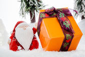 Santa Claus Gifts Showroom — Stock Photo