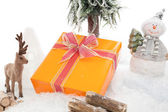 X-Mas Gift Guard — Stock Photo