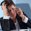Frustrated phone call — Stock Photo #40121357