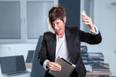 Manager burnout — Stock Photo