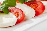 Stringed Tomatoes — Stock Photo