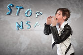 Stop NSA — Stock Photo
