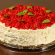 Meringue cake — Stock Photo