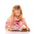 I like reading — Stock Photo #13646834