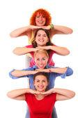 Joyful women — Stock Photo