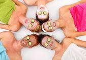 Yüz maskeleri — Stok fotoğraf