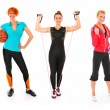 Stock Photo: Sporty set