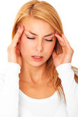 Migraine — Stock Photo