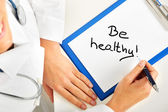 Be healthy — Stock Photo