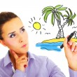 Dream vacations! — Stock Photo