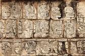 Mayan skulls — Stock Photo