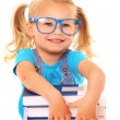 Smart young girl — Stock Photo #27867621