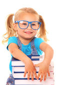 Smart young girl — Stock Photo