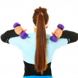 Shoulder exercise — Stock Photo