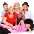 Four generations — Stock Photo